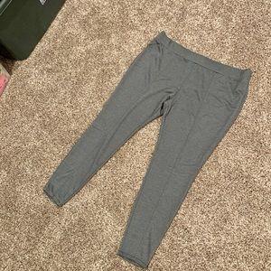 Tweed Look Ponte Pants